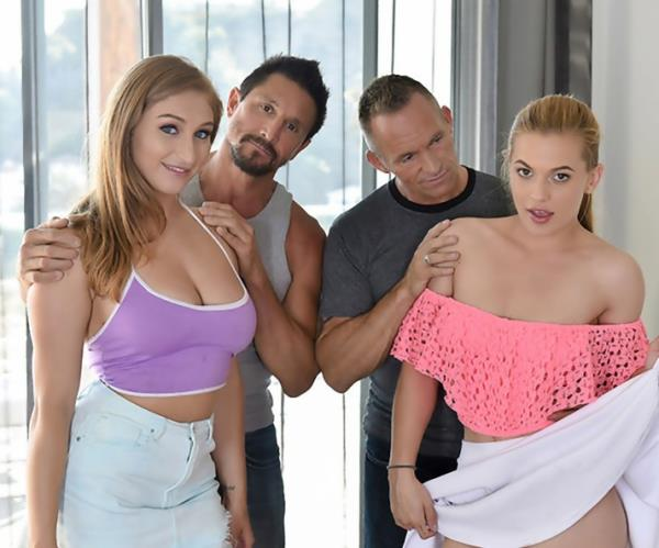 Skylar Snow, Sloan Harper Fucking Fathers To Keep The Car  DaughterSwap.com [SD 360p]