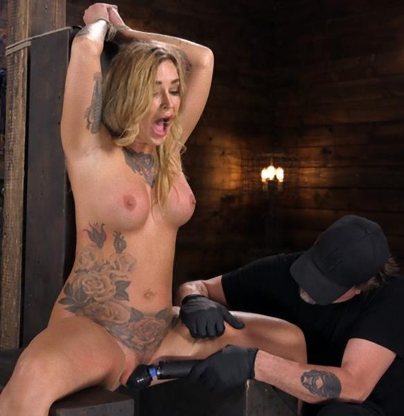 Kleio Valentien - Tattooed Slut Is Tormented In Bondage And Made To Cum? (2018/HogTied/Kink/HD/720p)