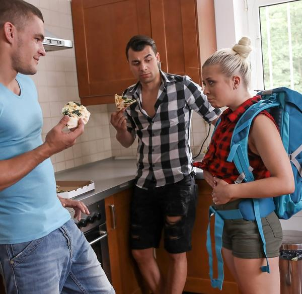 Anna Rey - Famished little traveler gets double helping (FakeHostel) [FullHD 1080p]