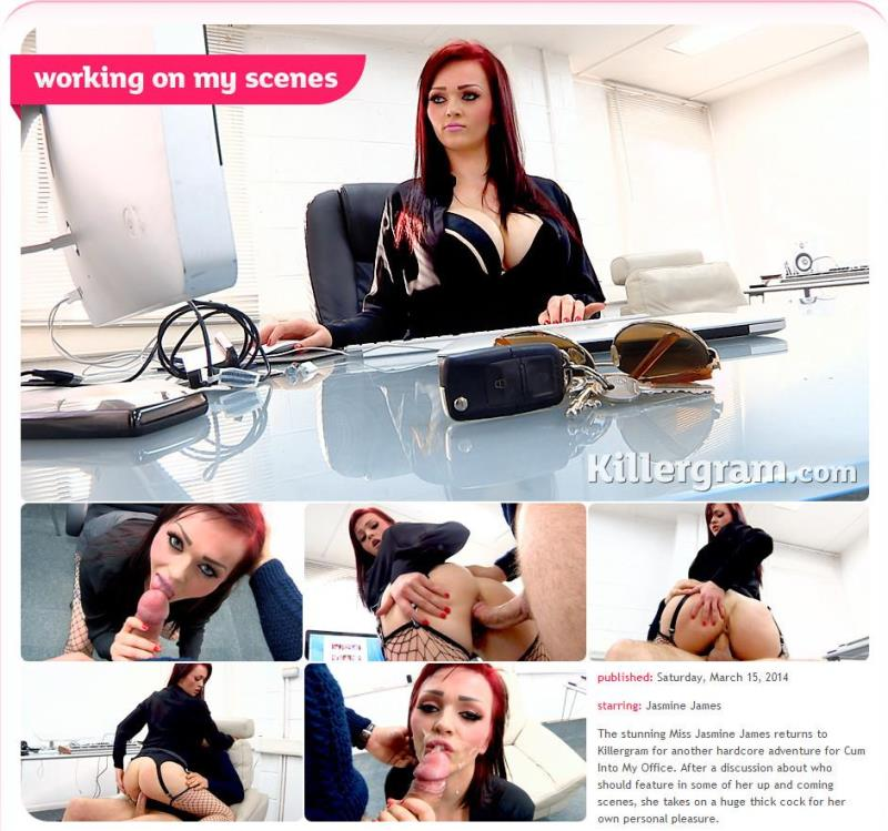Jasmine James - Working On My Scenes [Killergram] (HD|MP4|501 MB|2018)