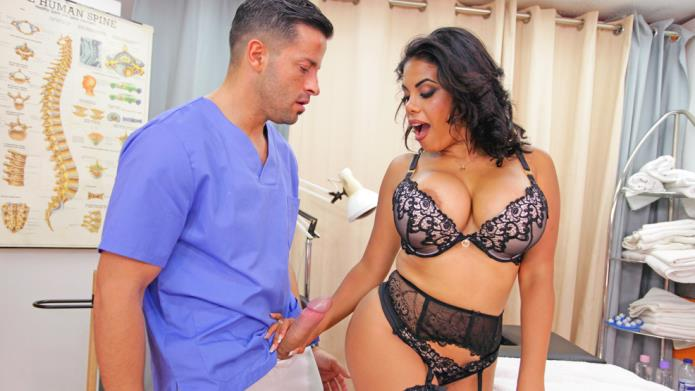 Kesha Ortega surrenders to Doctor Nick / Kesha Ortega / 23-08-2018 [SD/480p/MP4/471 MB] by XnotX