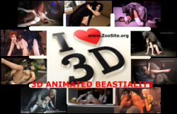 3D s - 3D ANIMATED BEASTIALITY Collection
