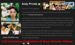 AndyPrivate s - Andy Private - Most Famous Animal Porn Star