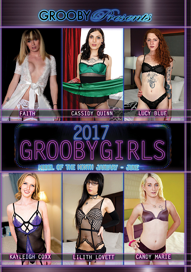 2017 GroobyGirls Model Of The Month January-June (2017)