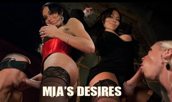 Tsseduction: Lorelei Lee, Mia Isabella and Ty Roderick - Mia Isabellas Desires (HD) - 2018