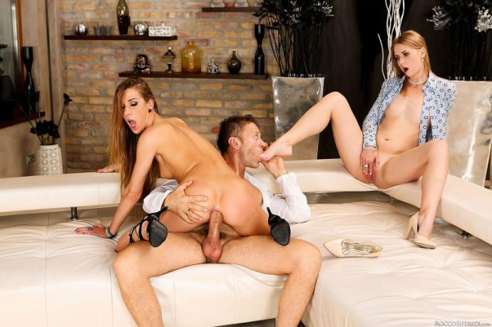 Alexis Crystal, Violette Pink - Violette's Anal Threesome Therapy [SD, 400p]