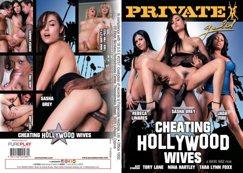 Private Gold 107: CHeating Hollywood Wives (2018/SD/480p/1.36 GB)