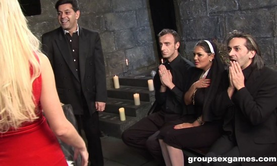 Amateur - Have Faith Vicars And Tarts [FullHD 1080p] - GroupSexGames