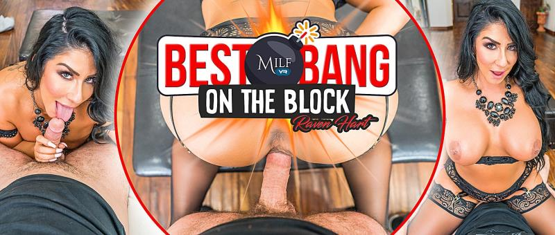 Raven Hart - Best Bang on the Block (MilfVR) [FullHD 1600p]
