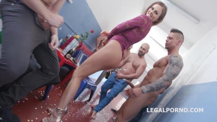 LegalPorno.com - Tina Kay - Happy B-day Tina Kay 10o1 DAP Gangbang with Balls Deep Anal Squirting Gapes 11 Cumshots GIO655 (720p/HD)