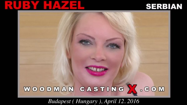 [WoodmanCastingX.com] Anal Sex with Ruby Hazel: Ruby Hazel (SD/540p/858.09 Mb)