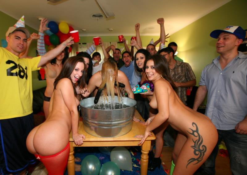 Jada Stevens, Diamond Kitty, Jinx Maze - Dorm Invasion Surprise Party (DormInvasion) [SD 400p]