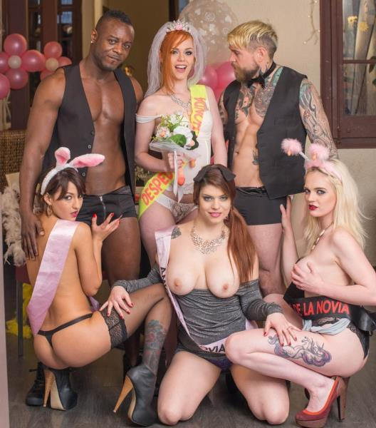 Carly Rae, Ella Hughes, Lucia Love, Suzy Rainbow - Orgy in the Restaurant (Private) [FullHD 1080p]