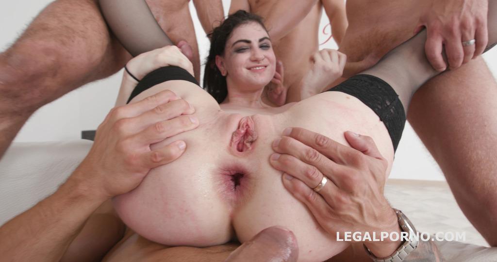 LegalPorno - Giorgio Grandi - Manhandle Gangbang, Lydia Black 7on1 Balls deep Anal, DAP, Gapes, Submission, Eyes Pop GIO698