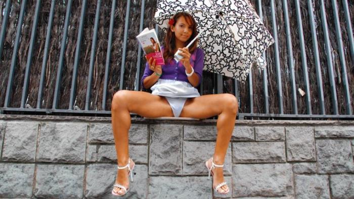 Cumlouder.com: Jade Kitti - Naughty schoolgirl [SD 360p] (Teen)
