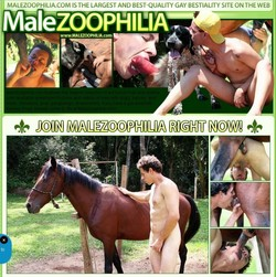 MaleZoo s - MaleZoophilia SiteRip - Lergest Gay Bestiality Site