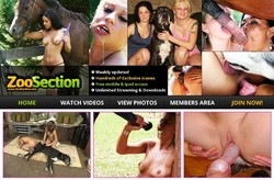 ZooSection s - Zoosection.com SiteRip - Dog and Horse porn Site