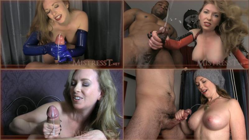 MistressT: Cumshot Cumpilation in HD - Mistress T [2018] (HD 720p)