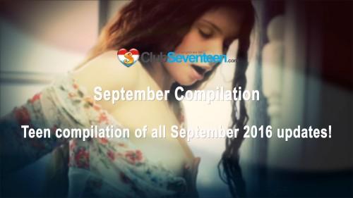 amateurs - Club Seventeen - September Compilation 2016 [FullHD 1080p] (1.83 Gb) Seventeen Productions