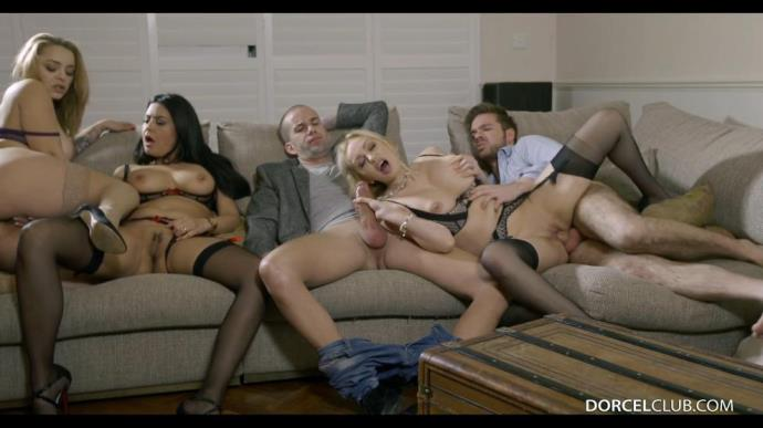 Liza Del Sierra, Mariska, Amber Jayne - Love Group Sex [FullHD, 1080p]