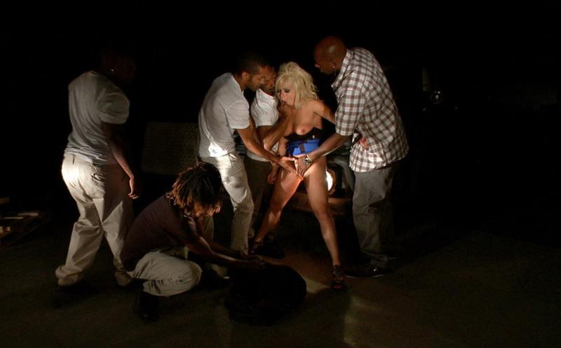 Lea Lexis - Hot Interracial Gangbang with Smoking Hot Blonde