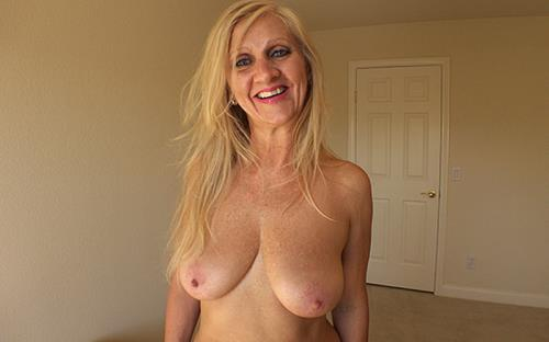 Amelia - 50 year old natural European blonde MILF (SD)