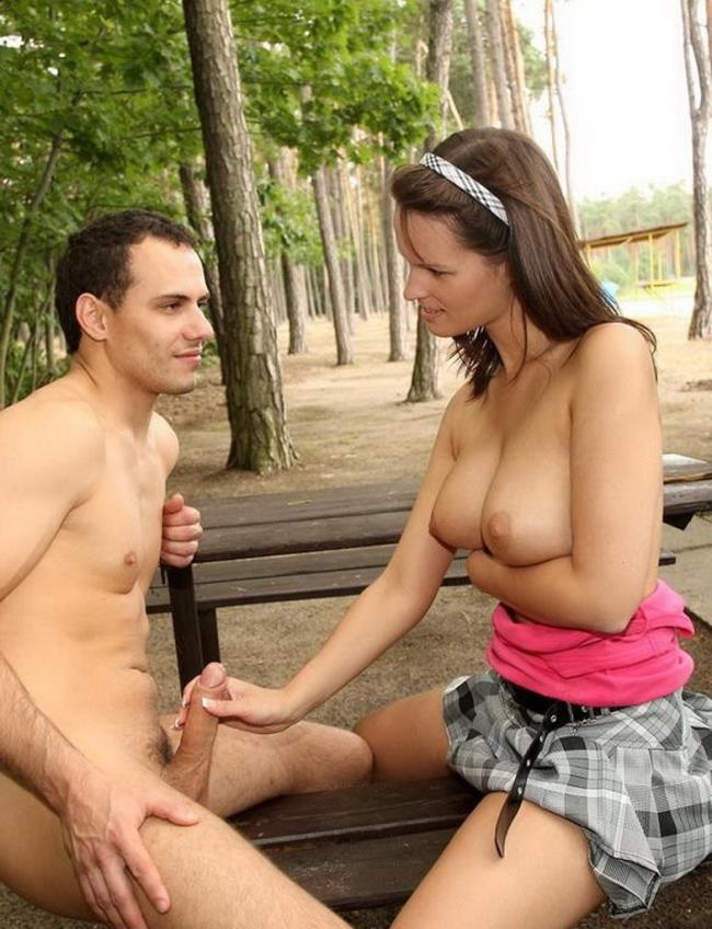 Парень Встретил Девушку Секс