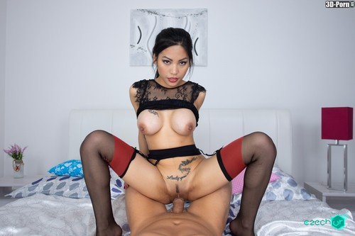 Welcome to the private room with your own Asian hooker!