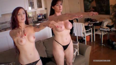 3 транса порно