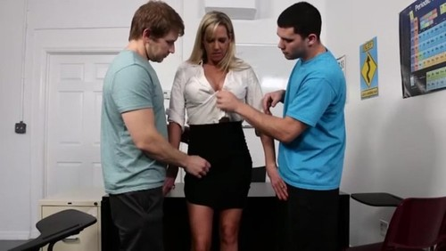 Two Guys Hypnotized Teacher