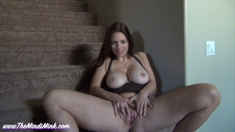 11358 Mindi Mink JOI For Son On Stairs.mp4