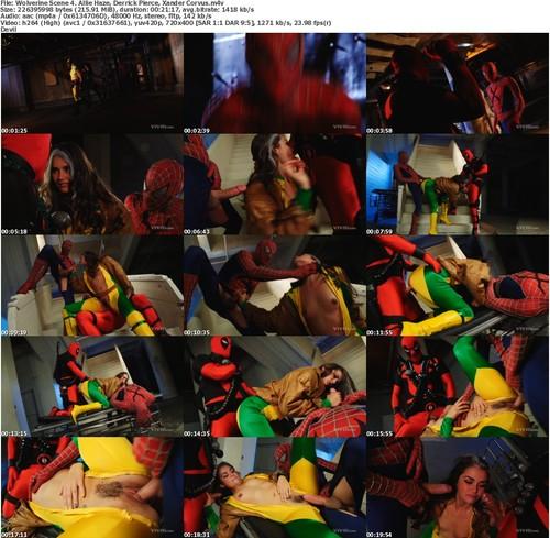 Wolverine Scene 4  Allie Haze, Derrick Pierce, Xander Corvus