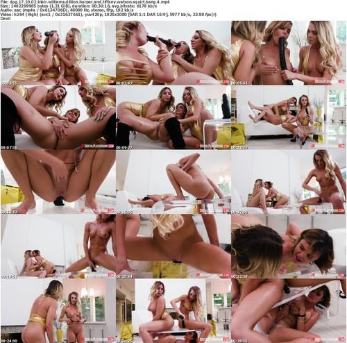 Dpg 17 10 02 Blair Williams Dillion Harper And Tiffany Watson Squirt Bang 4