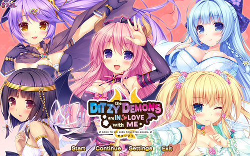 The Ditzy Demons Are in Love With Me [English, 18+ DLC]