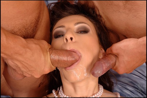 Wife Helps Bi Husband Gives Blowjob And Swallows Cum