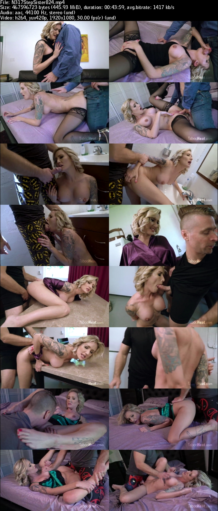 Step sister forced porn