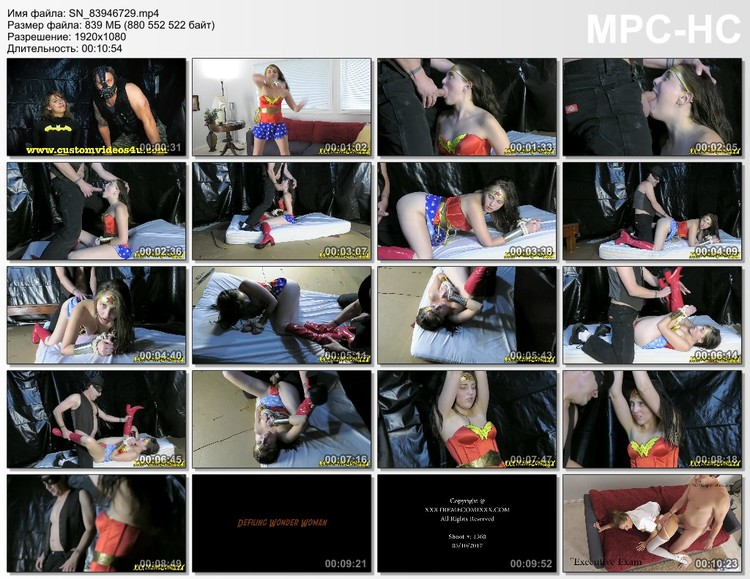 Wondergirl was attacked and captured