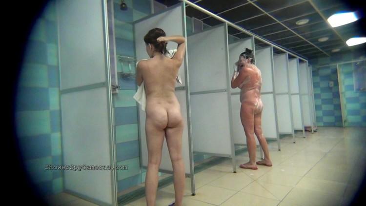 Teen girls mudding and naked