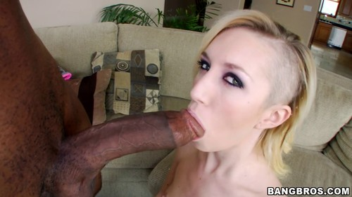 A Big Black Monster Cock For The Petite White Girl