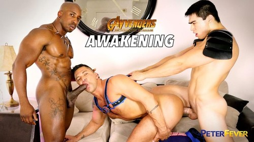 PeterFever - Axel Kane, Dominic Pacifico & Max Konnor - GayVengers Episode 4 - Awakening