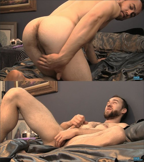 ZackRandall - John Powers - John Pumps A Heavy Gym Jock Load