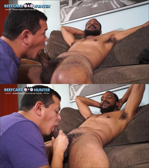 BeefcakeHunter - Harold - Verbal daddy gets serviced