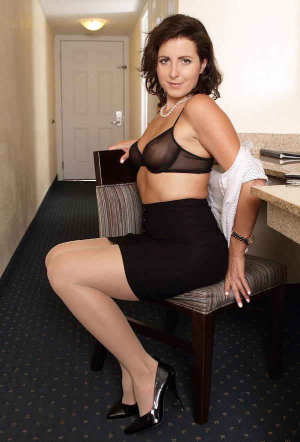 Big Tits Latina Mom Son