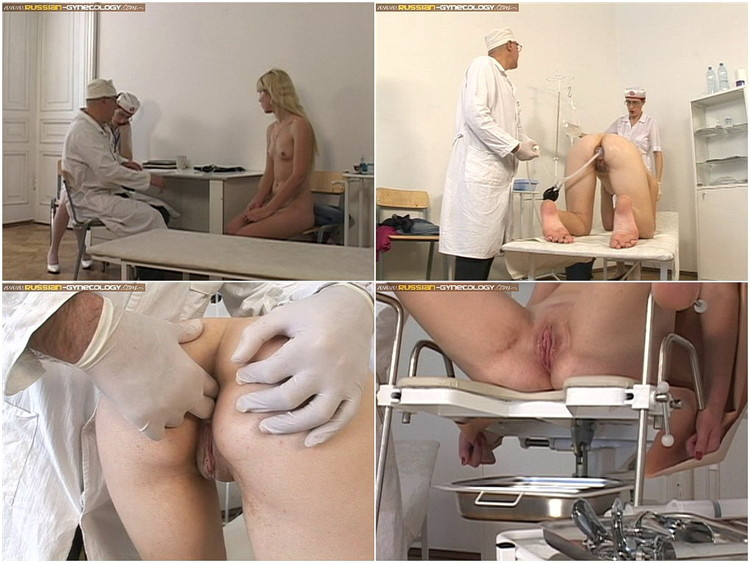 Two sexy nurses medical fetish action