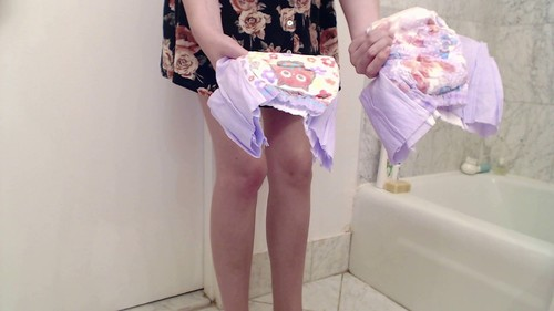 First time trying a diaper smearing with Cassiescat Full HD 1080p - Release year October 11, 2018