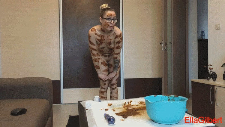 ScatGOLD - EllaGilbert - Shit Body Art Zebra