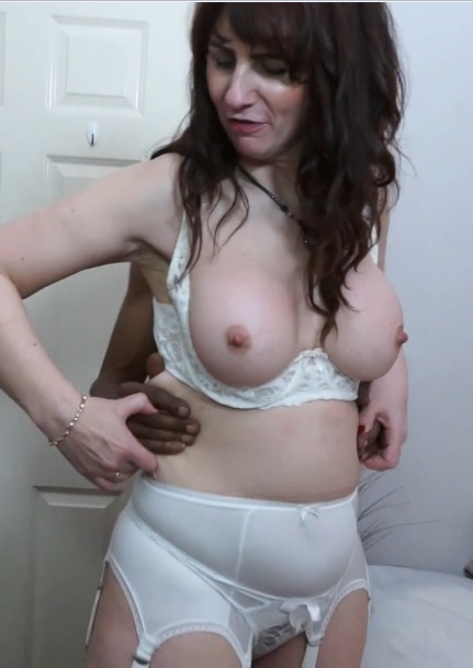 British housewife Toni Lace goes interracial