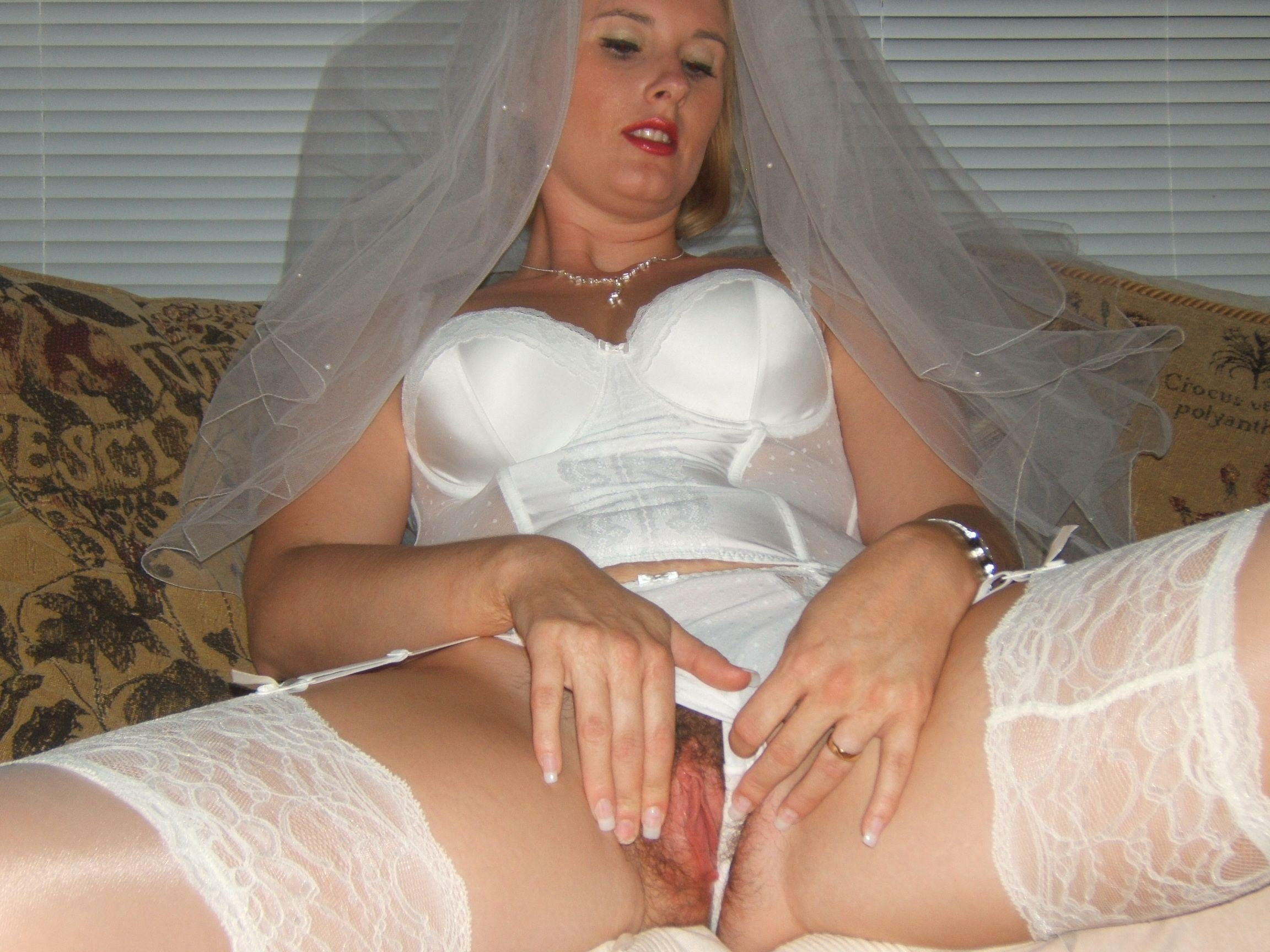 The bride and her pussy, south africa porn