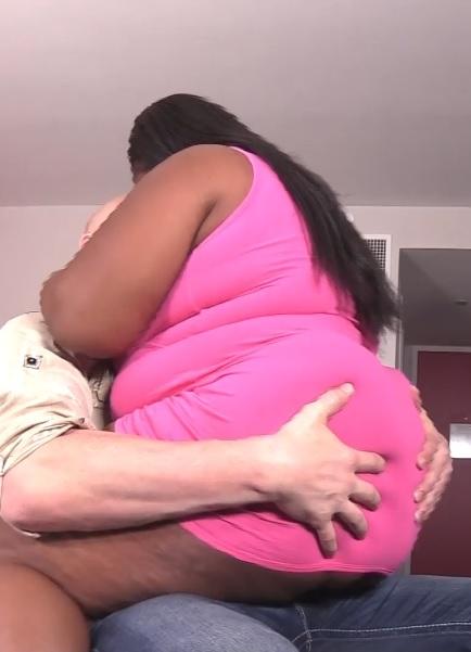 Ebony babe loves the D