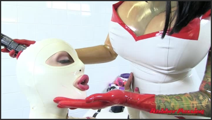 Watch Latex Nurse Gives Handjob